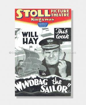 1937 Stoll Theatre Windbag the Sailor