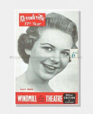 1958 REVUDEVILLE Windmill Theatre