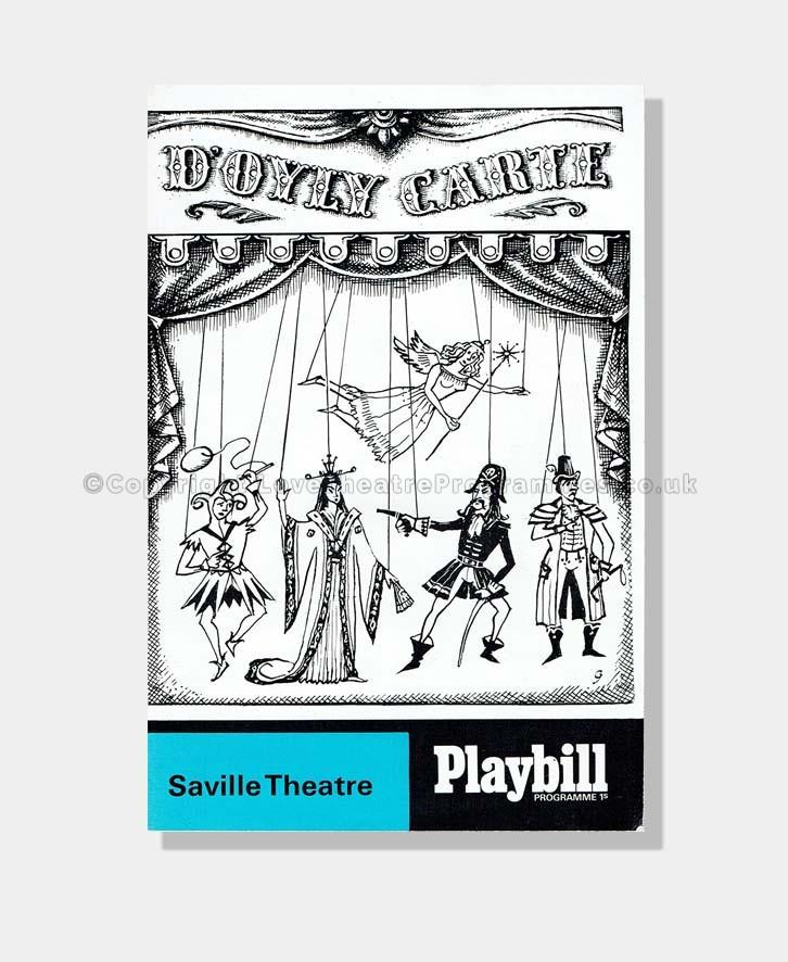 1967 GILBERT & SULLIVAN Saville Theatre