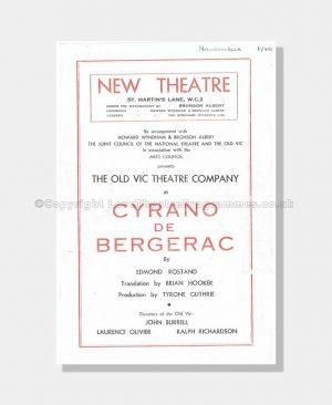 1946 CYRANO DE BERGERAC