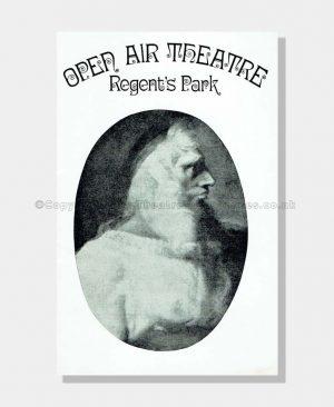 1972 THE TEMPEST Regent's Park