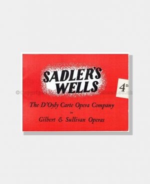 1949 HMS PINAFORE Sadler's Wells D'OYLY CARTE
