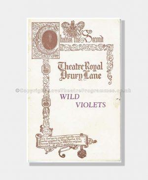 1933 WILD VIOLETS Drury Lane