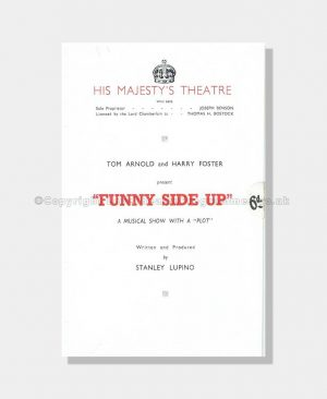 1940 FUNNY SIDE UP His Majesty's Theatre