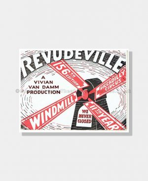 1942 REVUDEVILLE 156th Ed Windmill