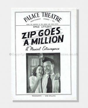 1952 ZIP GOES A MILLION Palace