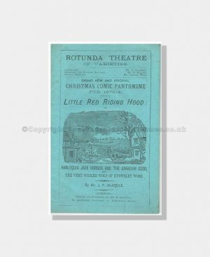 1873 RED RIDING HOOD Rotunda Theatre