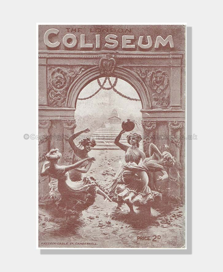 1916 VARIETY with SARAH BERNHARDT London Coliseum