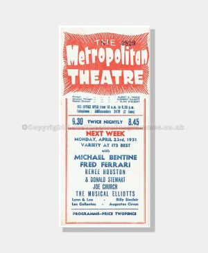 1951 DESIRE IN THE NIGHT Metropolitan Theatre