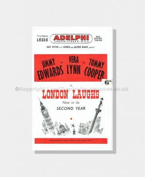 1952 LONDON LAUGHS Adelphi Theatre with Vera Lynn