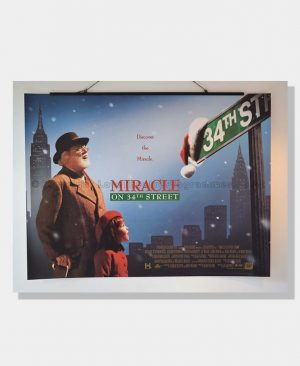 1994 MIRACLE ON 34th STREET Film Poster