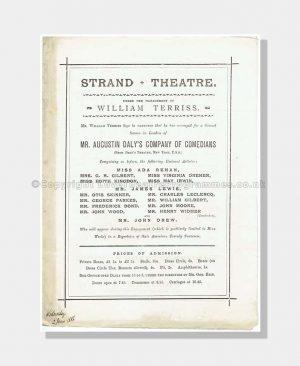 1886 A NIGHT OFF Royal Strand
