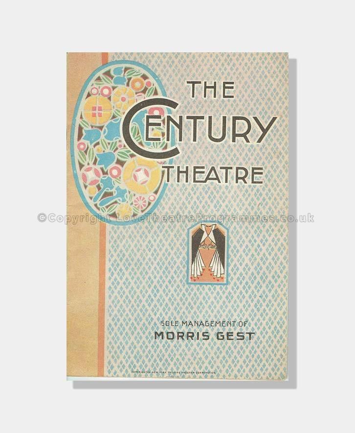 1919 APHRODITE The Century Theatre