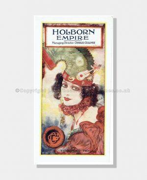 1922 WHERE THE RAINBOW ENDS Holborn Empire