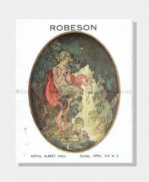 1938 PAUL ROBESON Royal Albert Hall