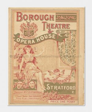 1904 THE CINGALEE Borough Theatre Stratford East