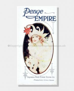 1925 THE FIRST KISS Penge Empire