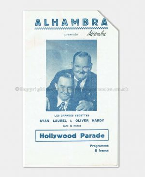 1947 HOLLYWOOD PARADE Laurel & Hardy