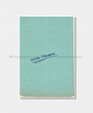 1902 THE HEEL OF ACHILLES Globe Theatre