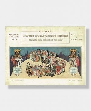 1919 D'OYLY CARTE SOUVENIR Gilbert & Sullivan Operas