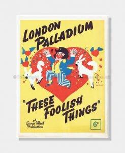 1938 THESE FOOLISH THINGS London Palladium
