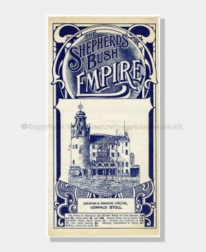 1911 Shepherd's Bush Empire Music Hall
