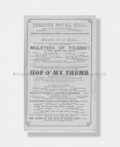1866 HOP O MY THUMB Theatre Royal, Hull