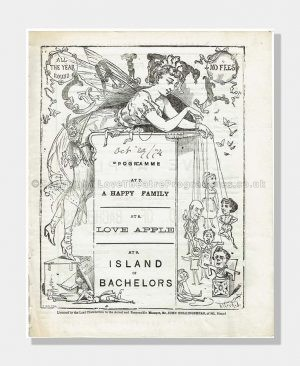 1874 Gaiety Theatre Island of Bachelors