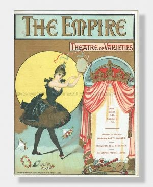 1894 EMPIRE THEATRE Variety