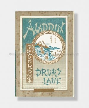 1885 ALADDIN Pantomime Drury Lane