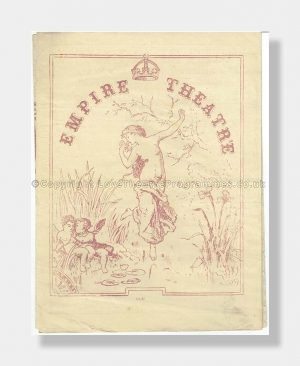 1885 THE LADY OF THE LOCKET Empire Theatre