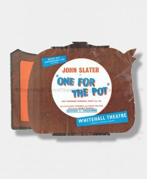 1961 ONE FOR THE POT Whitehall Theatre