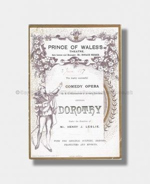 1887 DOROTHY Prince of Wales