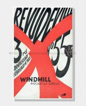 1935 REVUDEVILLE Windmill Theatre