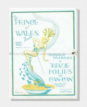 1938 REVUE FOLIES DE CAN-CAN Prince of Wales