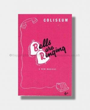 1957 BELLS ARE RINGING Coliseum Theatre