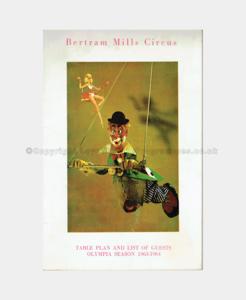 1963 , Bertram Mills, Circus