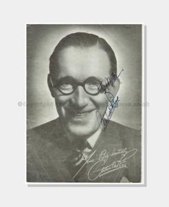 1950 Tivoli  Arthur Askey signed