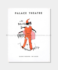 1956 Palace Theatre - Ballets De Paris