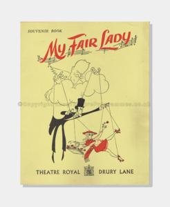 1958 - Theatre Royal Drury Lane - My Fair Lady