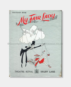 1958 Theatre Royal Drury Lane My Fair Lady