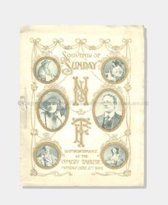 1904 SOUVENIR COMEDY THEATRE 21421900 (1xx crop) frame