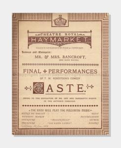 1883 Theatre Royal Haymarket 6241880 Caste (frame