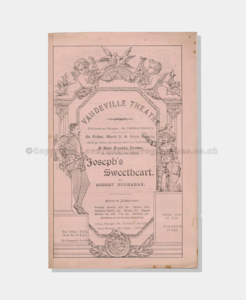1888 Joseph's Sweetheart 4121880 frame