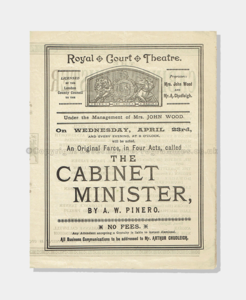 1890 THE CABINET MINISTER 84161890 frame