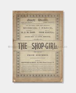 1894 The Shop Girl 881890 frame copy