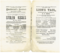 Love Theatre Programmes, Theatre Programme, Theatre Memorabilia, Stolen Kisses, 1877, Globe Theatre