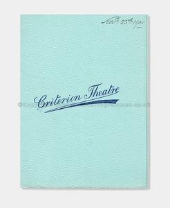 1900 Criterion Theatre