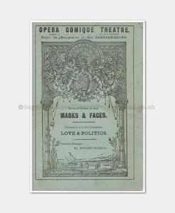 1888 MASKS & FACES Opera Comique 4471880 (1)