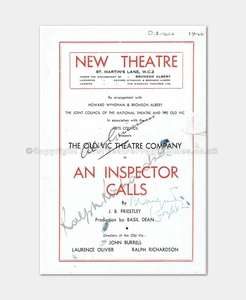 1946 - New Theatre - An Inspector Calls